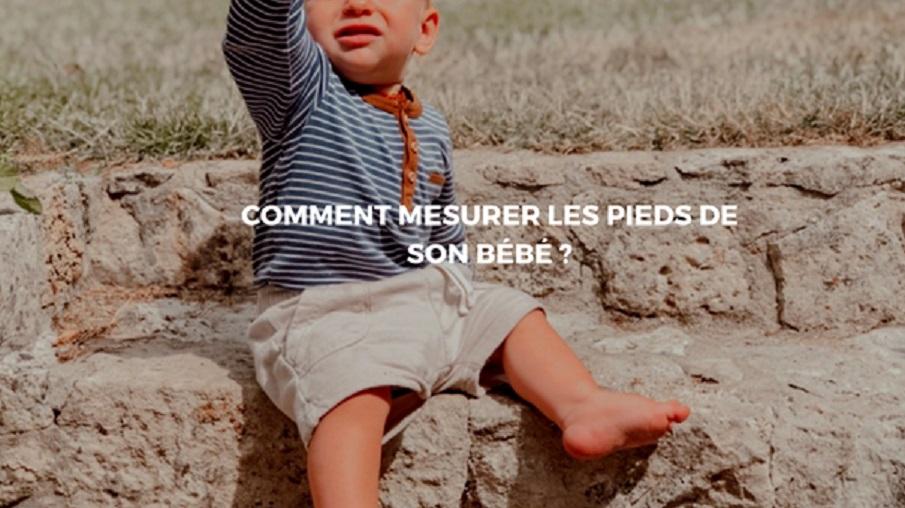 mesure pied bébé